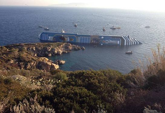 Accidente Costa Concordia