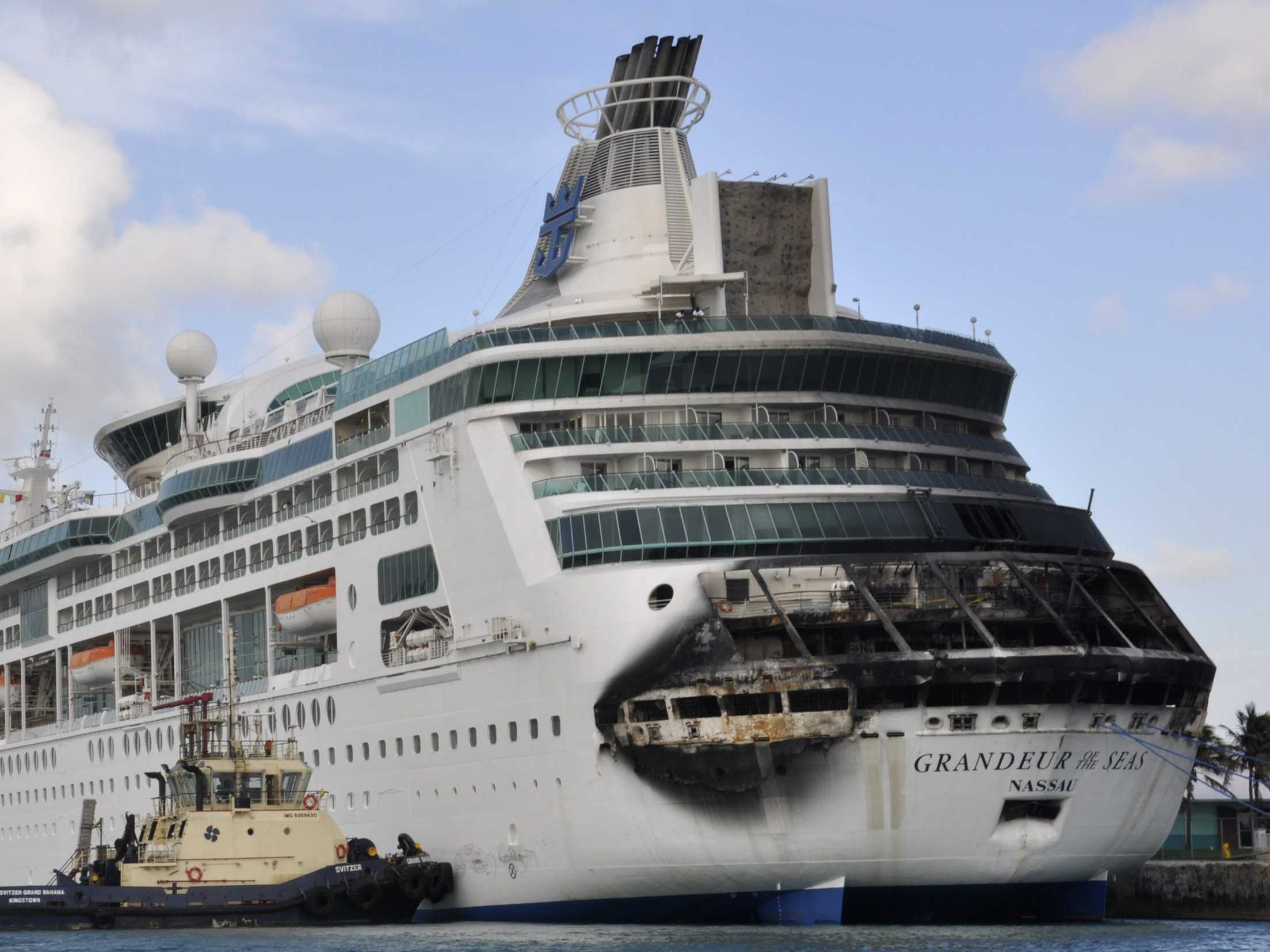 Incendio Crucero