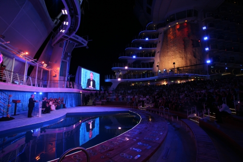 Oasis of the Seas - Escenario