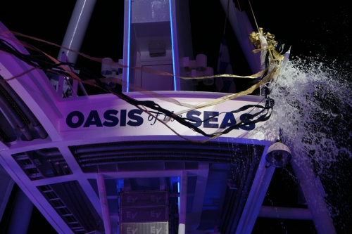 Oasis of the Seas - Ceremonia