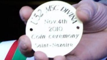 MSC Divina - Coin Ceremony