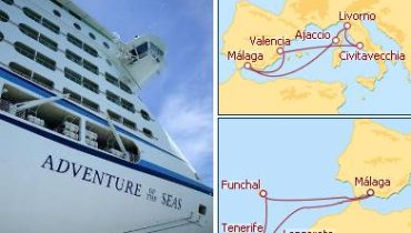 Adventure of the Seas desde Malaga 2012
