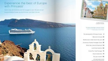 Princess Cruises en Europa 2013