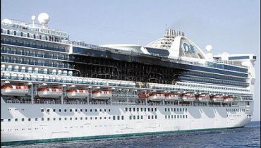 Star Princess incendiado