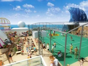Norwegian Epic - Sports Deck