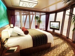 Norwegian Epic - Suit bed