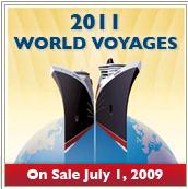 Cunard World Voyages 2011