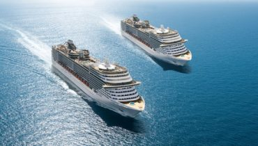 MSC Fantasia y MSC Splendida