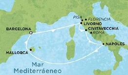 Itinerario Norwegian Epic Europa 2011
