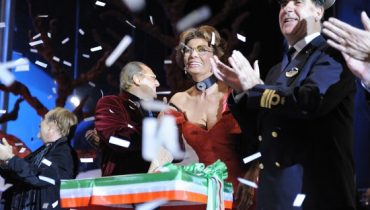 Sophia Loren - Bautismo del MSC Fantasia