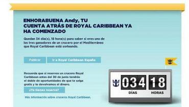Cuenta Atras - Royal Caribbean España