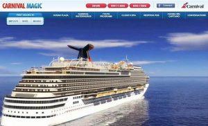 Carnival Magic - Sitio Web