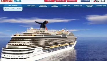 Carnival Magic - Sitio Web