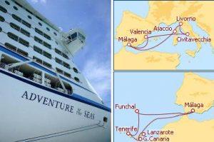 Adventure of the Seas desde Malaga 2012