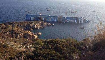 Costa Concordia accidentado